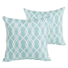Brockway Indoor/Outdoor Throw Pillow (Set of 2)