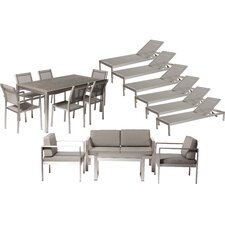 No Copoun Landenberg 17 Piece Seating Group with Cushion