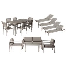 Landenberg 15 Piece Seating Group with Cushion