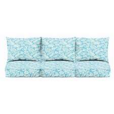 Maysville 6 Piece Outdoor Sofa Cushion Set