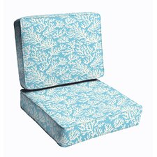 Best  Maysville 2 Piece Outdoor Dining Chair Cushion Set