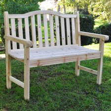 Buffalo Peak Wood Garden Bench