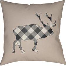 No Copoun Bighorn Indoor Outdoor Throw Pillow
