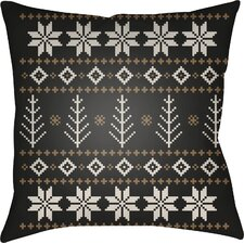 Battlement III Indoor Outdoor Throw Pillow