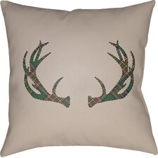 Tecumseh Indoor/Outdoor Throw Pillow