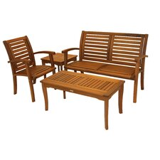 Northbridge Eucalyptus 4 Piece Lounge Seating Group