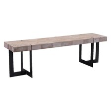 Nicollet Wood Dining Bench