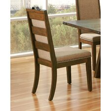 Tressider Stacking Dining Side Chair with Cushion