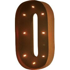 Rustic Vintage Letter LED Marquee Sign