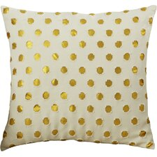 Polka Dot Outdoor Throw Pillow