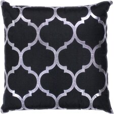 Charlotte Indoor/Outdoor Trellis Throw Pillow