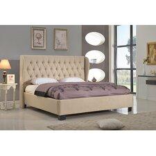 Schultz Upholstered Platform Bed  House of Hampton