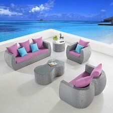 Clearview 5 Piece Seating Group with Cushions