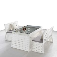 Best #1 Orchard 3 Piece Dining Set with Cushions