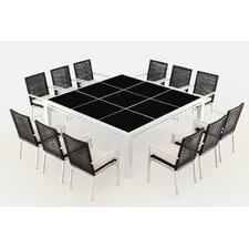 R?co 13 Piece Dining Set with Cushions