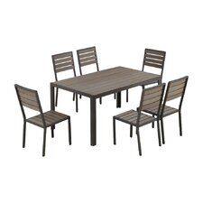 Welsley 7 Piece Dining Set