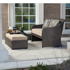 Davenport 2 Piece Deep Seating Group with Cushion