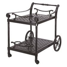 Grand Terrace Serving Cart