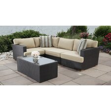 Best #1 Salina 5 Piece Seating Group with Cushions