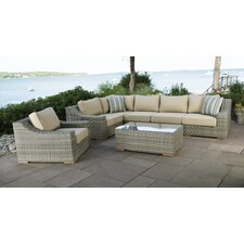 Top Reviews Corsica 7 Piece Seating Group with Cushions