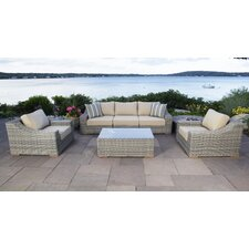 Corsica 6 Piece Deep Seating Group with Cushion