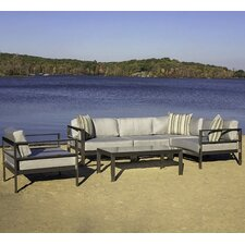 Pacifica 6 Piece Seating Group with Cushion