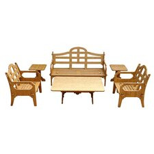 Palladian 6 Piece Lounge Seating Group