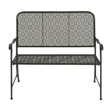 Ibnou Metal Garden Bench