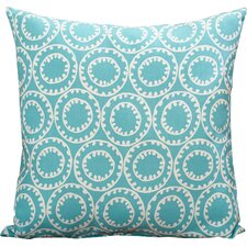 Ziraoui Geometric Indoor/Outdoor Throw Pillow