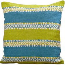 Bengali Indoor/Outdoor Throw Pillow