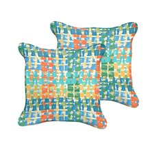 Clare Indoor/Outdoor Throw Pillow (Set of 2)