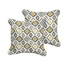 Socoma Indoor/Outdoor Throw Pillow (Set of 2)