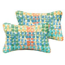 Momea Indoor/Outdoor Lumbar Pillow (Set of 2)