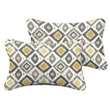 Socoma Indoor/Outdoor Lumbar Pillow Set (Set of 2)