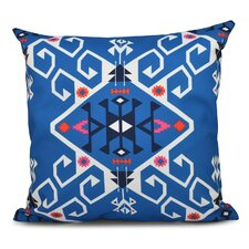Oliver Jodhpur Medallion Geometric Outdoor Throw Pillow