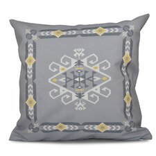 Oliver Jodhpur Border 3 Geometric Outdoor Throw Pillow