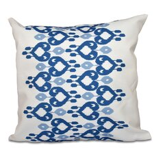 Oliver Boho Chic Geometric Outdoor Throw Pillow