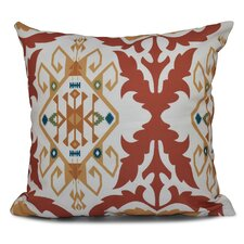 Oliver Bombay Medallion Geometric Outdoor Throw Pillow