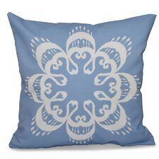 Coupon Oliver Ikat Mandala Geometric Outdoor Throw Pillow