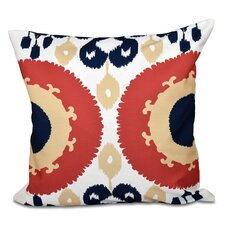 Oliver Boho Geometric Outdoor Throw Pillow