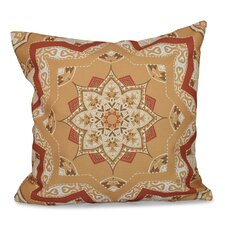 Oliver Shawl Geometric Outdoor Throw Pillow