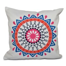 #2 Oliver Mod Geometric Outdoor Throw Pillow