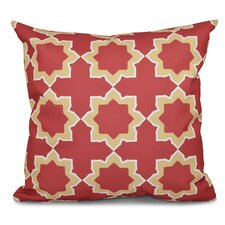 Oliver Bohemian 2 Geometric Outdoor Throw Pillow