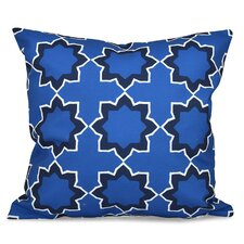 Oliver Bohemian Geometric Outdoor Throw Pillow
