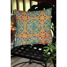 Lankershim Medallion Indoor/Outdoor Throw Pillow