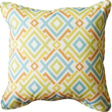 Pick City Indoor/Outdoor Throw Pillow (Set of 2)