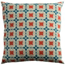 Modern Slauson Indoor/Outdoor Throw Pillow