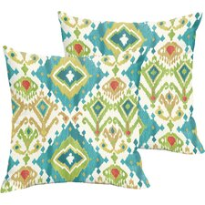 Oxford Indoor/Outdoor Throw Pillow (Set of 2)