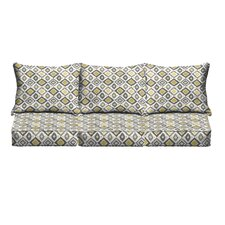 Socoma Pillow and Cushion 6 Piece Sofa Set