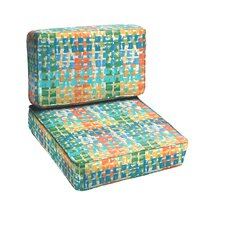 Momea 2 Piece Outdoor Chair Cushion Set